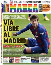 capa Jornal Marca de 28 junho 2020