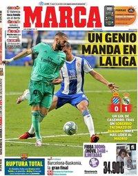capa Jornal Marca de 29 junho 2020