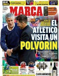 capa Jornal Marca de 30 junho 2020