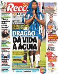 capa Jornal Record de 17 junho 2020