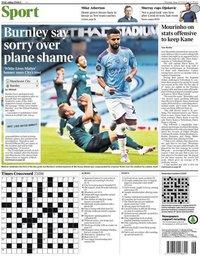 capa Jornal Times Sport de 23 junho 2020