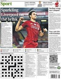 capa Jornal Times Sport de 25 junho 2020