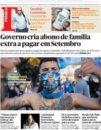 capa Público de 4 junho 2020