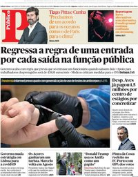 capa Público de 8 junho 2020