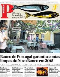 capa Público de 13 junho 2020