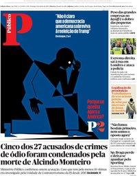 capa Público de 14 junho 2020