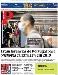 capa Público de 30 junho 2020