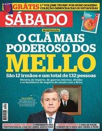 capa Revista Sábado de 10 junho 2020