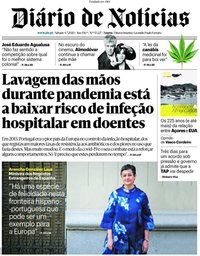 capa Diário de Notícias de 4 julho 2020