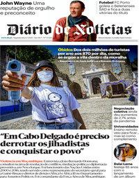 capa Diário de Notícias de 6 julho 2020