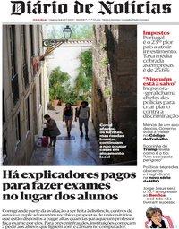 capa de Diário de Notícias