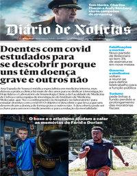 capa Diário de Notícias de 24 julho 2020
