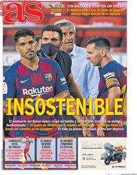 capa Jornal As de 2 julho 2020
