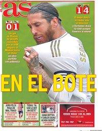 capa Jornal As de 6 julho 2020