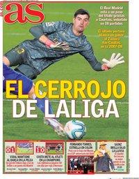 capa Jornal As de 12 julho 2020