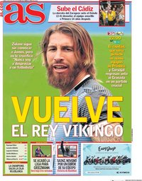 capa Jornal As de 13 julho 2020