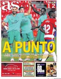 capa Jornal As de 14 julho 2020