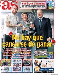 capa Jornal As de 18 julho 2020