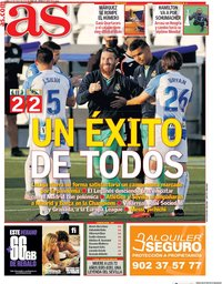 capa Jornal As de 20 julho 2020
