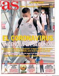 capa Jornal As de 21 julho 2020