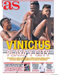 capa Jornal As de 22 julho 2020