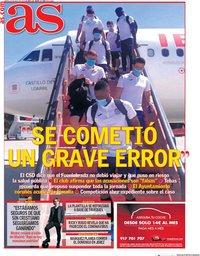 capa Jornal As de 23 julho 2020