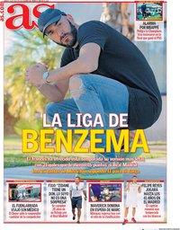 capa Jornal As de 25 julho 2020