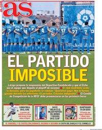 capa Jornal As de 27 julho 2020