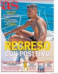 capa Jornal As de 29 julho 2020