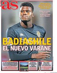 capa Jornal As de 31 julho 2020