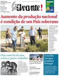 capa Jornal Avante de 23 julho 2020