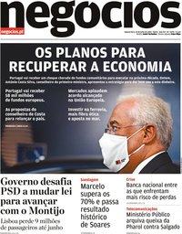 capa Jornal de Negócios de 22 julho 2020