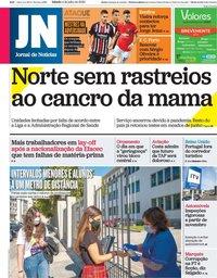 capa Jornal de Notícias de 4 julho 2020