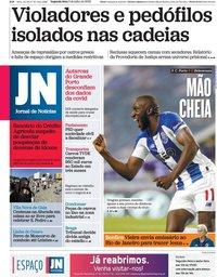 capa Jornal de Notícias de 6 julho 2020