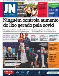 capa Jornal de Notícias de 22 julho 2020