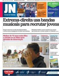 capa Jornal de Notícias de 24 julho 2020