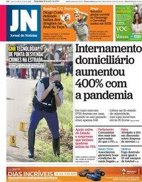 capa Jornal de Notícias de 28 julho 2020