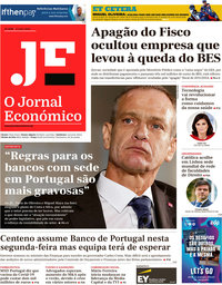 capa Jornal Económico de 17 julho 2020