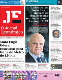 capa Jornal Económico de 24 julho 2020