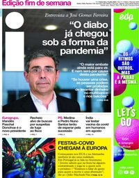 capa Jornal i de 10 julho 2020