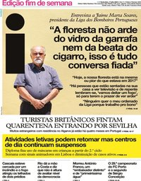 capa Jornal i de 17 julho 2020
