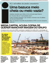 capa Jornal i de 22 julho 2020