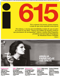 capa Jornal i de 23 julho 2020