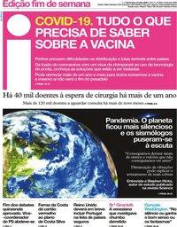 capa Jornal i de 24 julho 2020