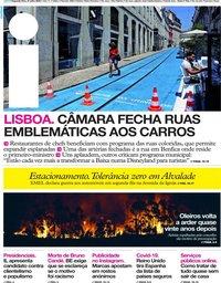 capa Jornal i de 27 julho 2020