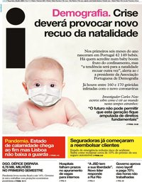 capa Jornal i de 28 julho 2020