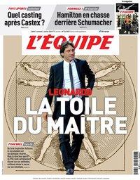capa Jornal L'Équipe de 4 julho 2020