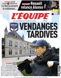 capa Jornal L'Équipe de 9 julho 2020