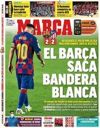 capa Jornal Marca de 1 julho 2020