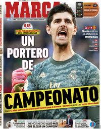 capa Jornal Marca de 4 julho 2020